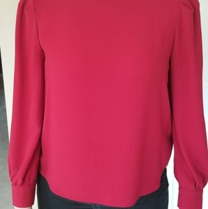 Gorgeous Red Zara blouse